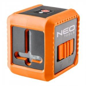 NEO TOOLS Αλφάδι laser γραμμικό κόκκινης δέσμης 75-100