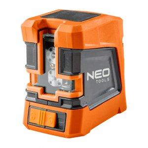 NEO TOOLS Αλφάδι laser γραμμικό κόκκινης δέσμης 75-101