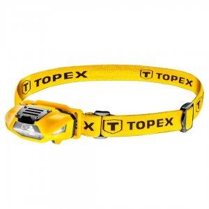TOPEX Φακός Κεφαλής 70lum Λευκό και Κόκκινο 1xAA 94W390