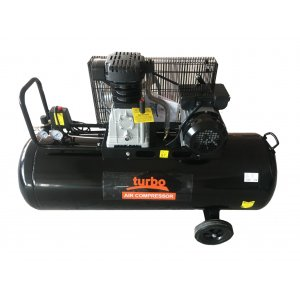 Turbo Αεροσυμπιεστής 3 HP, 150lt TRB150