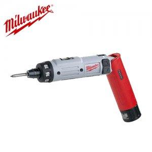 "Milwaukee V4 IS Li-Ion Κατσαβίδι μπαταρίας για μύτες 1/4"" 4V–3Ah Εργαλεία Μπαταρίας"