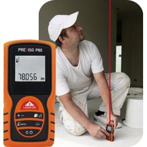 PREXISO P80  Μετρητής αποστάσεων laser 80 m | Ηλεκτρικά Εργαλεία - Όργανα Μέτρησης | karaiskostools.gr