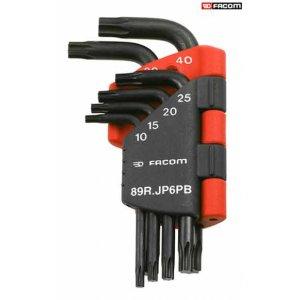 Σετ με 6 κλειδιά RESISTORX & θήκη 89R.JP6PB FACOM Κλειδιά Γωνιακά