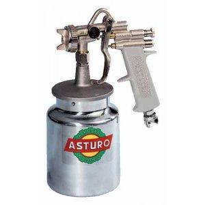 Πιστόλια βαφής κάτω δοχείο 1000 cc ASTURO Ιταλίας Πιστόλια Βαβής