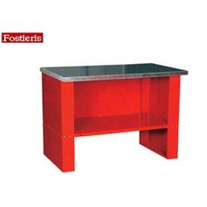 Πάγκος εργασίας 1,25 m κόκκινος 606 FOSTIERIS Πάγκοι & Ταμπλό