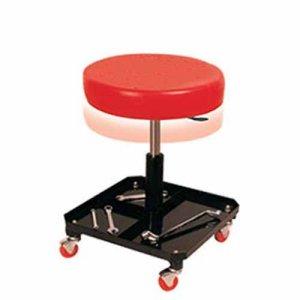 Κάθισμα εργασίας στρογγυλό με τετράγωνη βάση τροχήλατο TR6201 Ξαπλώστρες - Καθίσματα