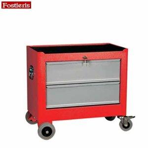 Εργαλειοφόρος τροχήλατος 2 συρταριών κόκκινος 702R FOSTIERIS Εργαλειοφόροι