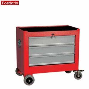 Εργαλειοφόρος τροχήλατος 3 συρταριών κόκκινος 703R FOSTIERIS Εργαλειοφόροι