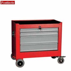 Εργαλειοφόρος τροχήλατος 4 συρταριών κόκκινος 704R FOSTIERIS Εργαλειοφόροι