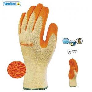 Γάντια εργασίας με επίχριση Latex σειράς VE730 VENITEX Ατομική Προστασία