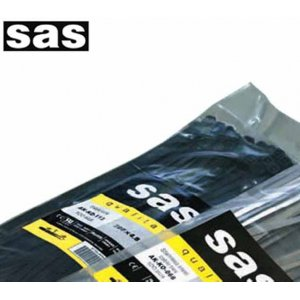 Δεματικά καλωδίων 4,8x370mm μαύρο SAS Εργαλεία Καλωδιώσεων