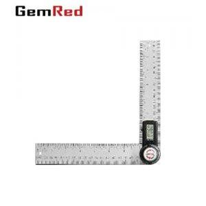 """Ηλεκτρονικό γωνιόμετρο """"στέλα"""" με ράγα 40 cm Inox GemRed Όργανα Μέτρησης"""