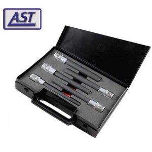 Σετ καρυδάκια TORX θηλυκά TX-E extra μακριά 5 τεμαχίων AST6004 Ειδικά Καρυδάκια & Εργαλεία