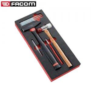 Θήκη αφρού με εργαλεία χτυπήματος MODM.MI7PB FACOM Συλλογές Με Σφυριά - Ζουμπάδες - Σιδηροπρίονα