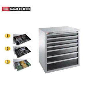 Βιομηχανική συρταριέρα με 6 συρτάρια 2936B FACOM