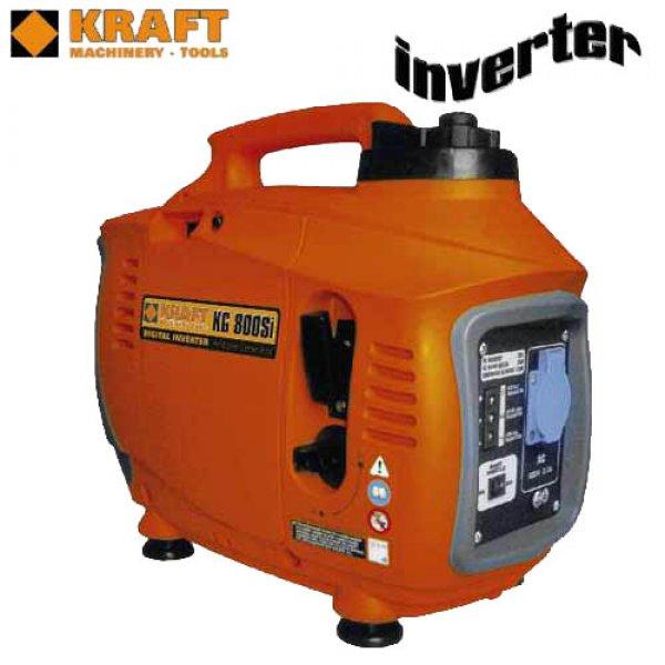 Γεννήτρια βενζίνης inverter 0,85 KVA βαλιτσάκι KG 800 Si KRAFT Γεννήτριες