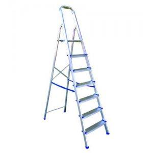 Σκάλα αλουμινίου 5 + 1 σκαλιά PROFAL  (ΣΟΥΠΕΡ) Σκάλες