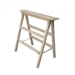 Καβαλέτο ξύλινο 120 cm με 3 σκαλοπάτια PROFAL Καβαλέτα