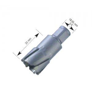 Ποτηροκορώνα d20mm Καρβιδίου τύπου WELDON βάθους κοπής 35 mm BULLE 68652