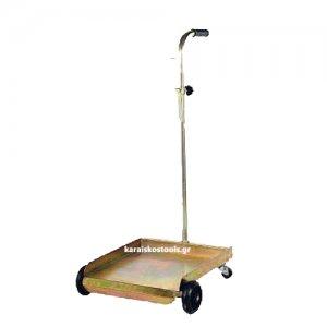 Καρότσι μεταφοράς βαρελιών 20-60 kg. με 4 τροχούς FAICOM Ιταλίας Καρότσια Μεταφοράς Βαρελιών