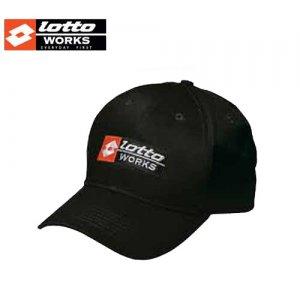 Καπέλο μαύρο LOTTO Works Cap Works Ατομική Προστασία