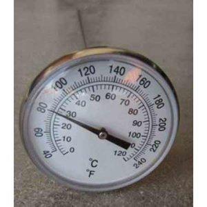 Θερμόμετρο με στέλεχος 50 cm. Οικιακή Ανακύκλωση