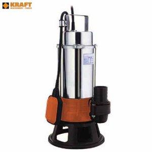 Υποβρύχια αντλία ακαθάρτων υδάτων 1,0 Ηp KSS-100 KRAFT Αντλίες Υποβρύχιες