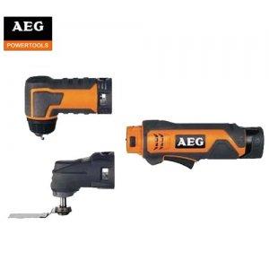 Παλμικό εργαλείο 10,8V & extra γωνιακό τσόκ δραπάνου BWS 12C AEG Παλμικά Εργαλεία
