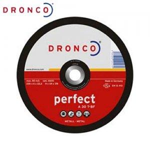 Δίσκος λείανσης μετάλλου 180x6,0 A 30 T DRONCO Γερμανίας Γωνιακοί Τροχοί