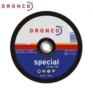 Δίσκος κοπής μετάλλου 230x2,5 AS 30 T DRONCO Γερμανίας Γωνιακοί Τροχοί