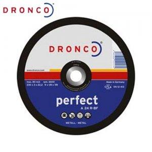 Δίσκος κοπής μετάλλου 230x3,0 A 24 R DRONCO Γερμανίας Γωνιακοί Τροχοί