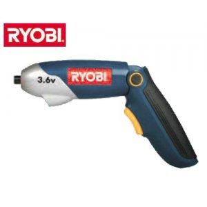 """Κατσαβίδι μπαταρίας 3,6 Volt 1/4"""" CSD 3612 G RYOBI Εργαλεία Μπαταρίας"""