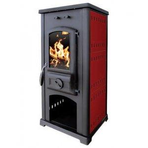 Σόμπα ξύλου 8 kW Solaris Θέρμανση