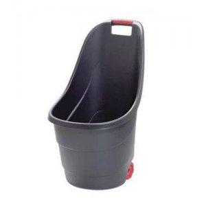 Καρότσι κήπου πλαστικό μαύρο 62 lt. Καρότσια Μεταφοράς