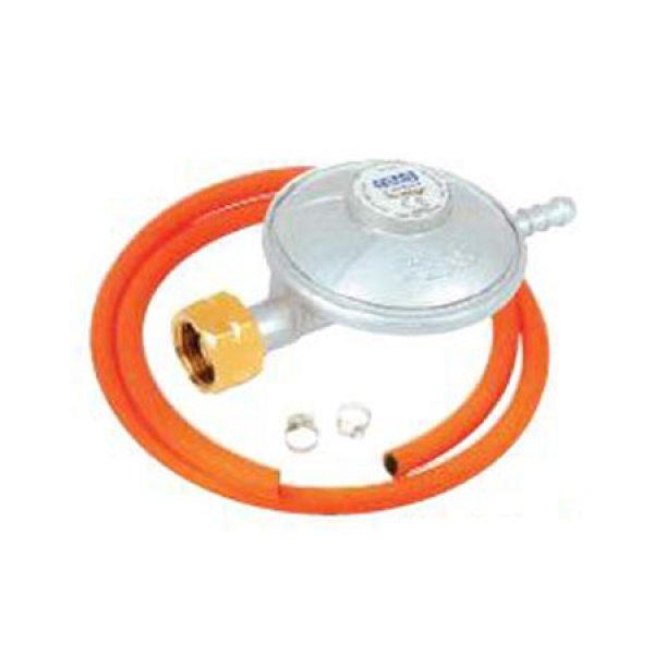 Ρυθμιστής υγραερίου με λάστιχο & σφικτήρες Θέρμανση