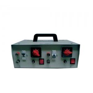 Μετασχηματιστής για δυο βέργες απο 220 V σε 12 V  (3 σκάλες) Μετασχηματιστές - Φορτιστές - Μπαταρίες