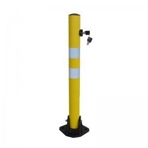 Κολονάκι παρεμπόδισης στάθμευσης Κίτρινο FOB-RY Μπάρες Στάθμευσης