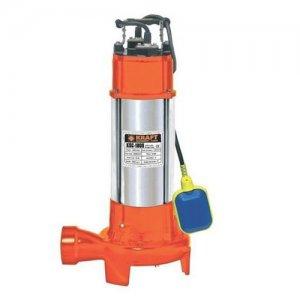 KRAFT KSC-1800 αντλία λυμάτων ανοξείδωτη με κοπτήρα 1500 Watt 63551 Αντλίες Υποβρύχιες