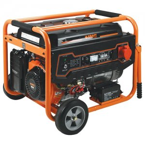 Ηλεκτρογεννήτρια βενζίνης 7000Watt LT9000-3 KRAFT 63736