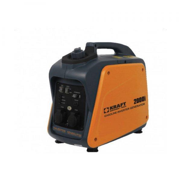 Ηλεκτρογεννήτρια βενζίνης inverter 1000Watt 1200i KRAFT 63768