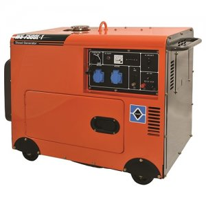 Ηλεκτρογεννήτρια πετρελαίου 5000Watt WS7500L-1 (ATS) KRAFT 63770