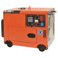 Ηλεκτρογεννήτρια πετρελαίου 6500Watt WS8500L-3 (3-ph, ATS) KRAFT 63772