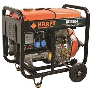 Ηλεκτρογεννήτρια πετρελαίου 6000Watt WS8500-1 KRAFT 63773