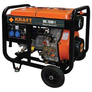 Ηλεκτρογεννήτρια πετρελαίου 5000Watt WS7500-1 KRAFT 63775
