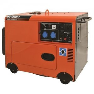 Ηλεκτρογεννήτρια πετρελαίου 6500Watt WS8500L-1 (ATS) KRAFT 63776