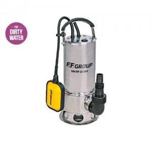 Αντλία υποβρύχια ακαθάρτων υδάτων Inox 1100Watt DWSP 1100X FF GROUP | Αντλίες Γεννήτριες  - Αντλίες Υποβρύχιες | karaiskostools.gr