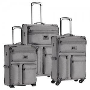 CUBE COMBAT VISIFLASH βαλίτσες 3 pack 50,60,70εκ. 83349 Cat® Bags| Τσάντες - Βαλίτσες | karaiskostools.gr