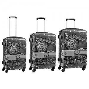 DOZER βαλίτσες 3 pack 50,60,70εκ. 83356 Cat® Bags | Τσάντες - Βαλίτσες | karaiskostools.gr