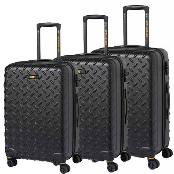 INDUSTRIAL PLATE βαλίτσες 3 pack 50,60,70εκ. 83688 Cat® Bags | Τσάντες - Βαλίτσες | karaiskostools.gr