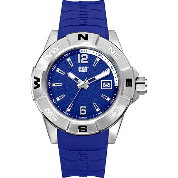 Ρολόι ανδρικό NORTH Blue - Blue silicone AF.141.26.632 CAT® WATCHES